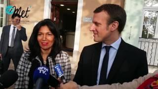 Emmanuel Macron - Samia Ghali : rencontre au petit matin à Marseillle