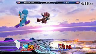 E2C | Lord Sturm (Yoshi) vs dunkey! (Mario) - R1 Pools