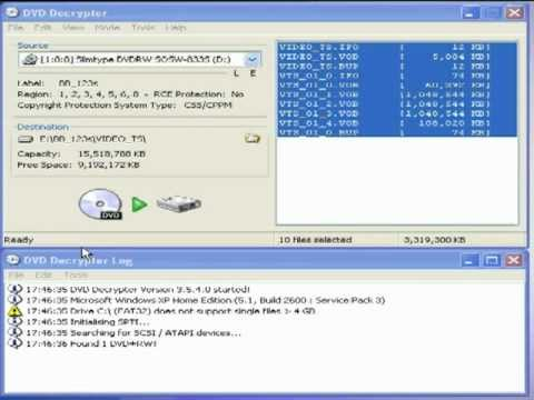 copy dvd to hard drive software free