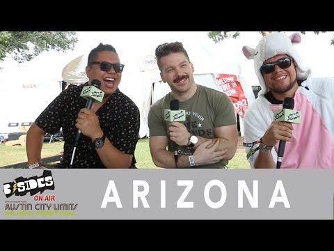 B-Sides On-Air: Interview - A R I Z O N A at Austin City Limits 2018