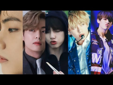Kim Taehyung💜||BTS🥰V Tiktok mix Videos 😊☺️||On Hindi songs||💜💜💜