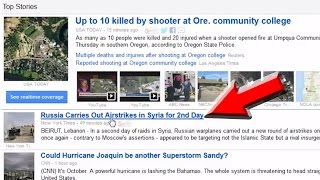 Oregon Mass Shooting Another False Flag To Hide Real News