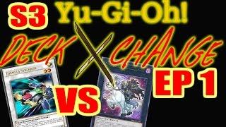 Level 1 Sychro Vs. Level 1 Xyz - Yu-Gi-Oh Deck Exchange Cardsworth Vs. Deadleg - Season 3 Episode 1
