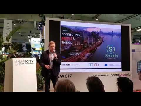 SMASH at Smart City Expo in Barcelona