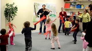 Ribbon Dance in Music Class