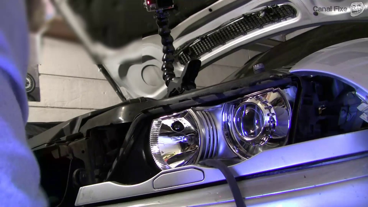 hight resolution of how to replace bmw e46 headlight cover