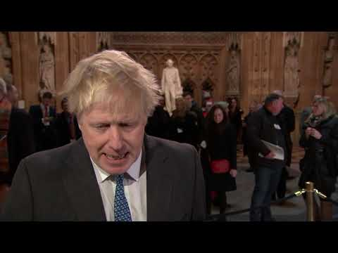 Boris Johnson says MPs' vote as 'massively fortified' May