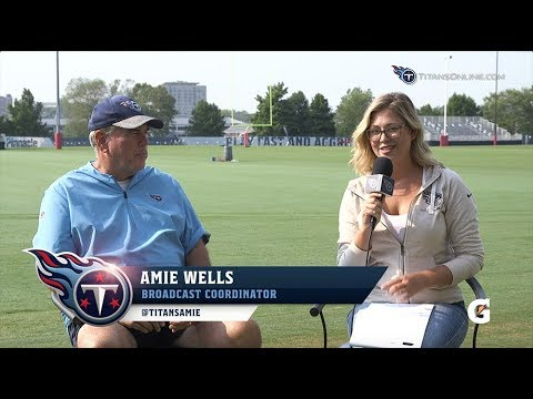 Titans Training Camp Report with Defensive Coordinator Dean Pees