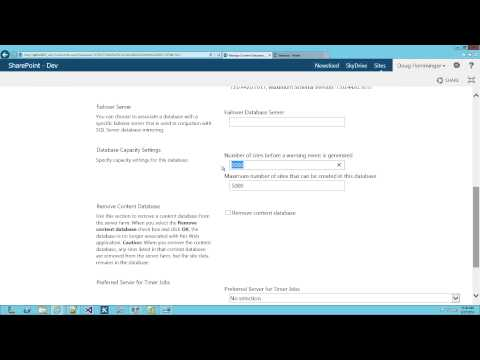 SharePoint 2013 Tutorial: Administration and Architecture Overview