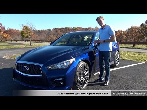 Review: 2016 Infiniti Q50 Red Sport 400 AWD