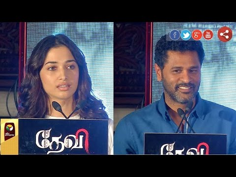 Prabhu Deva & Tamanah 'Devi' movie crew share their experiences