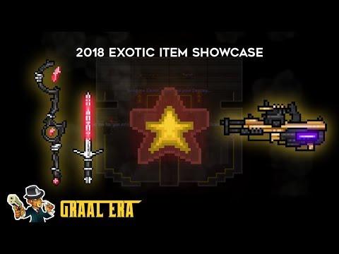 Graalonline Era- Exotic Item '2018' Showcase