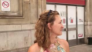 Отбытие поезда Ницца-Париж