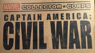 Marvel Collector Corps CIVIL WAR Unboxing