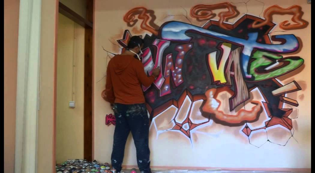 Como hacer graffitis en paredes the expert - Graffitis en paredes ...