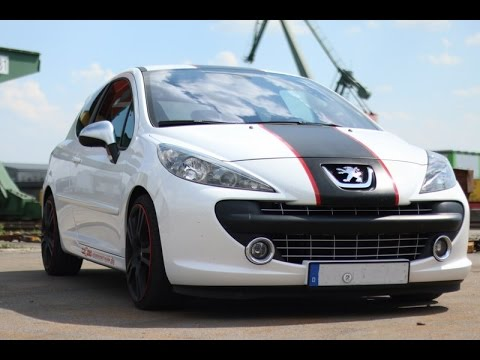 peugeot 207 rc cup tunnel flyby soundcheck clemens. Black Bedroom Furniture Sets. Home Design Ideas
