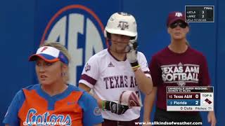 2018 NCAA Softball Super Regionals, Game 3: #2 Florida Gators vs. #15 Texas A&M Aggies