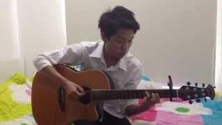 ที่รัก(เธอ) เอก สุระเชษฐ์ - Fingerstyle Guitar Cover by ต้นปาล์ม