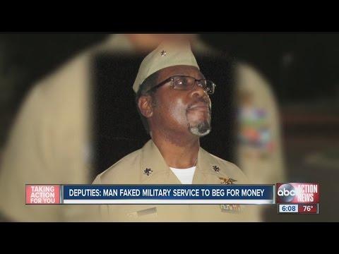 Civilian Used Navy Uniform, Awards, To Beg