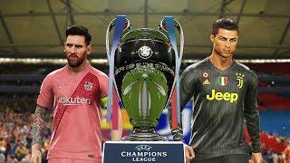PES 2019 | Barcelona vs Juventus | Final UEFA Champions League | CR7 vs Messi |Gameplay PS4