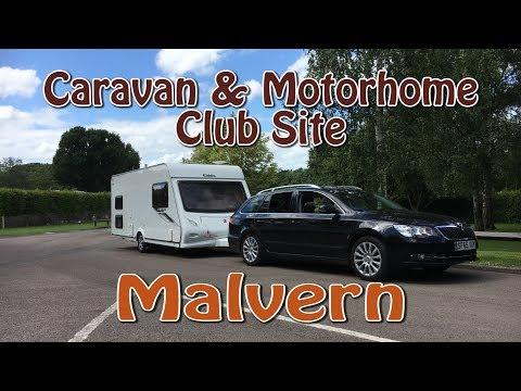 A trip to Malvern | Caravan & Motorhome Club Site