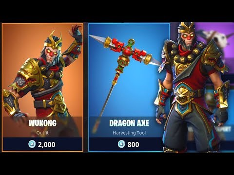 INSANE *NEW* WUKONG SKIN In Fortnite: Battle Royale! (MONKEY KING)