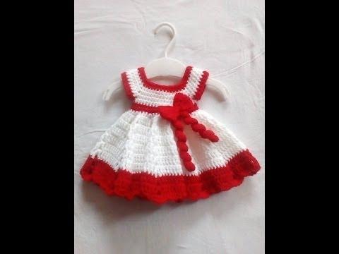 Crosetam alt model de rochita 0-3 luni