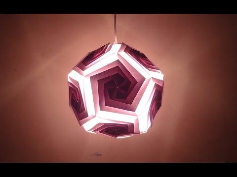 Paper Craft (Diwali Decoration Ideas): Beautiful Pentagonal Lantern -Christmas Decor
