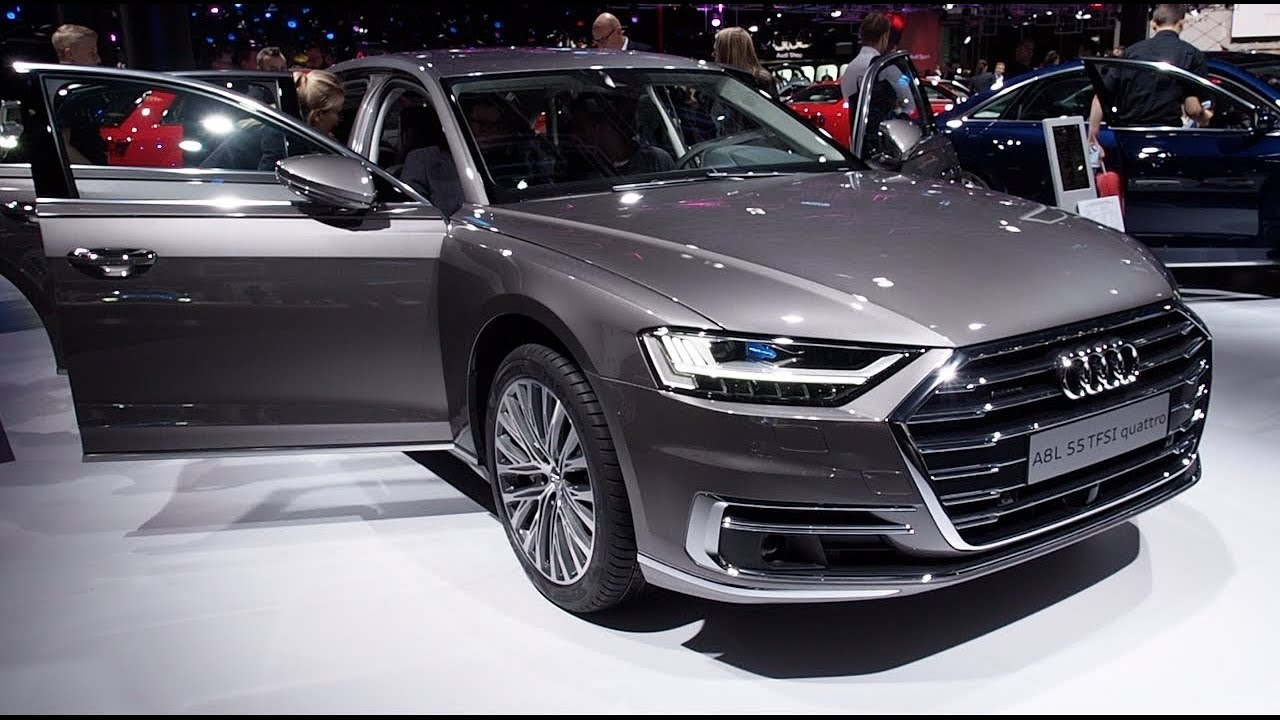 the all new audi a8l 55 tfsi quattro 2018 in detail review. Black Bedroom Furniture Sets. Home Design Ideas