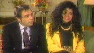 La Toya Jackson & Jack Gordon Rare Interview (1990)