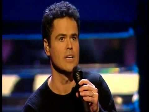 DONNY OSMOND   ALL HIS HITS LIVE