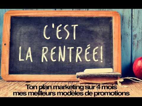 Ton plan marketing sur 4 mois : mes meilleurs modèles de promotions