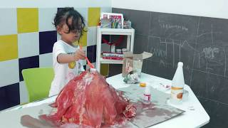 Science with kid : Lava Experiment