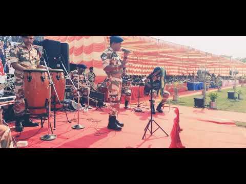 Titel song Kesari Live singing performance  Teri mitti  during Itbp  Raising Day celebration.