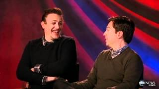 Jason Segel and Ed Helms Interview on 'Jeff, Who Lives at Home' and Comedic Acting in Films