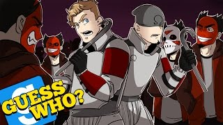 "GMOD: Guess Who | ""CARTOONZ"" IS FINALLY HERE! (w/ H2O Delirious, Bryce, & Ohmwrecker) Garry's Mod"