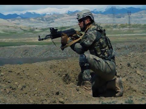 Боевой кулак на границе с Арменией.В учениях в Нахчыване отрабатывается и тактика контрнаступления