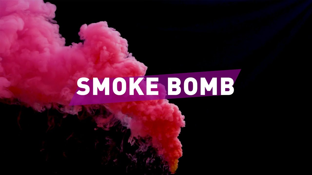 RED SMOKE BOMB / FREE DOWNLOAD VFX