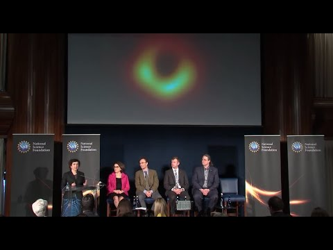 Watch: Scientists unveil historic first image of a black hole