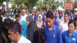 Kuala Kangsar by-election begins