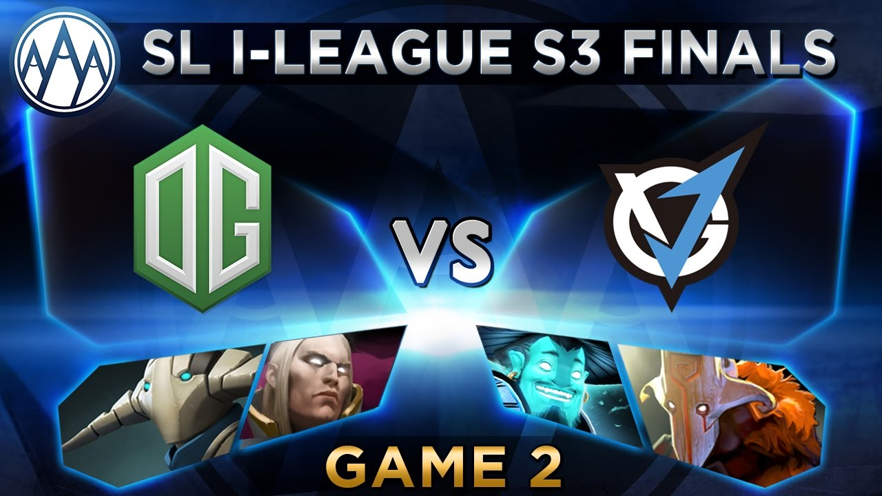 OG vs VG.J Game 2 - SL i-League StarSeries S3 LAN Finals - @ODPixel @WinteRDota