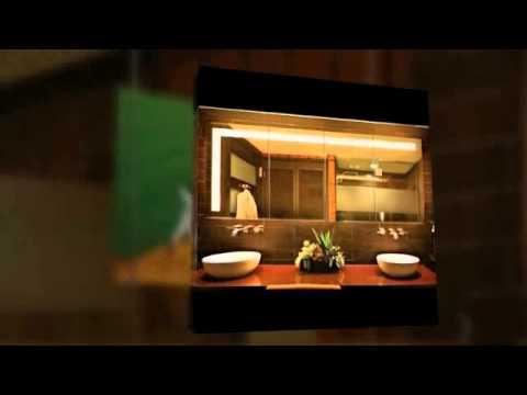 spiegelschrank bad fernseher youtube. Black Bedroom Furniture Sets. Home Design Ideas
