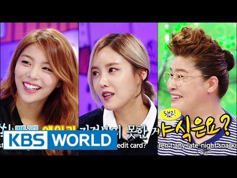 Hello Counselor - Ailee, Hyomin, Seoyeon (T-ara) & Kim Jongseo! (2014.10.20)