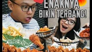 Spicy Wings & Cheesy Jalapeno Fries at WINGSTOP Jakarta