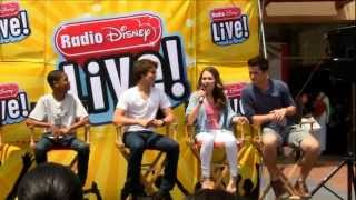 Flashback Friday: Kelli Berglund talks Lab Rats at the Radio Disney Live! event
