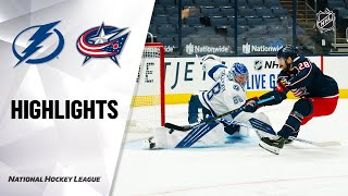 Lightning @ Blue Jackets 1/23/21 | NHL Highlights
