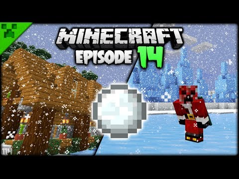 The Minecraft SNOWY Settlement! | Python's World (Minecraft Survival Let's Play S2) | Episode 14