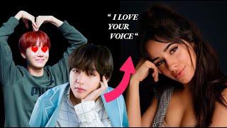 BTS x Camila Cabello Moments + Reaction + Collaboration