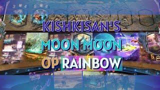 Mythgard | Moon Moon - Orange Purple Rainbow - kishkisan