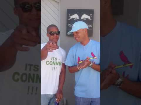CONNEL spitting next to YOUNGSTA-CPT